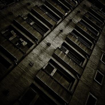 building gloomy window