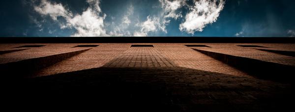 building meets sky