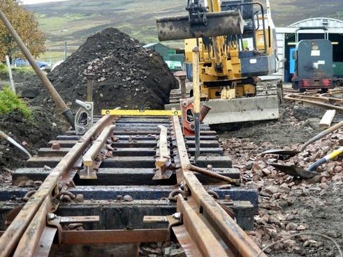 building the railway