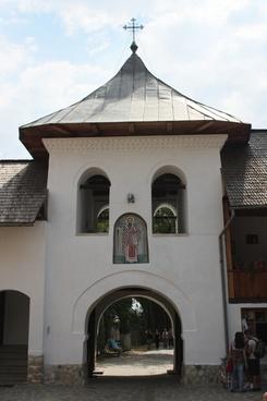 buildings church gorj