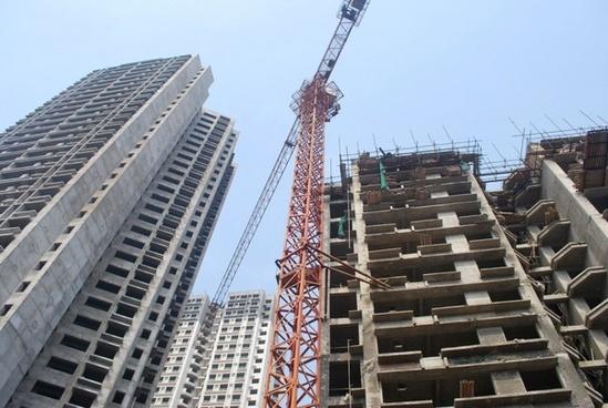 buildings construction crane