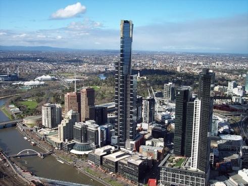 buildings eureka tower melbourne