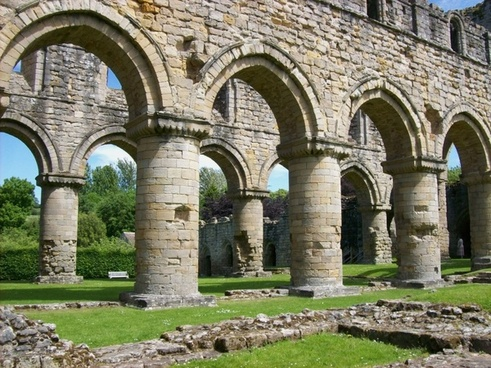 buildwas abbey england great britain