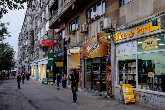 bukarest street life
