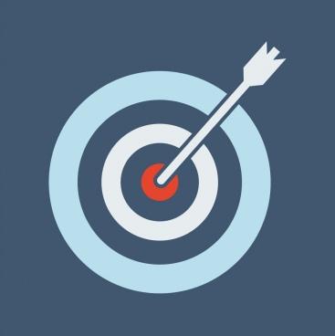 bullseye with an arrow