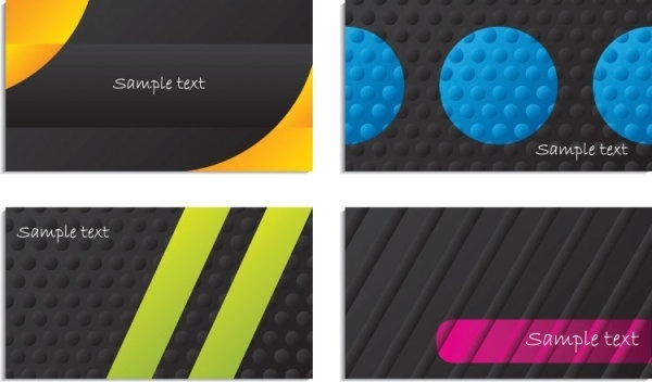 bump texture background business card vector