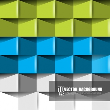 bump vector origami background