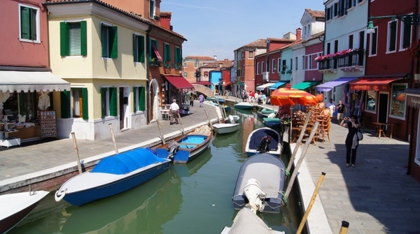burano channel italy