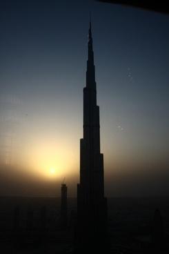 burj khalifa skyscraper building