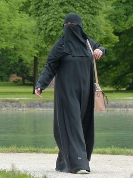 burka woman muslim