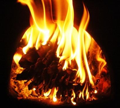 burn embers fire