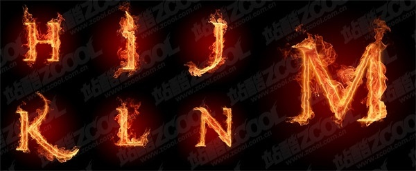 burning the letters of the alphabet picture hn