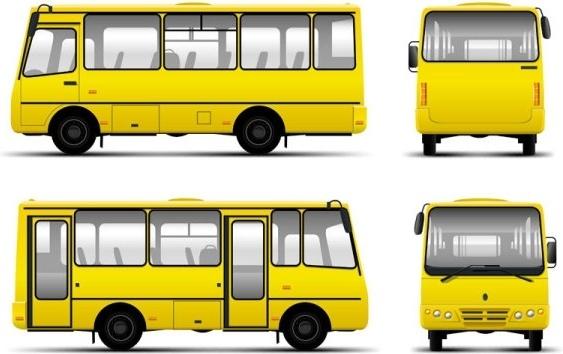 bus 01 vector