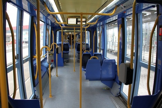 bus inside interior