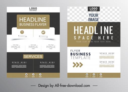 business brochure cover templates elegant contemporary design