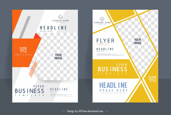 business brochure templates bright elegant modern checkered decor