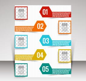 business brochure vector cover design