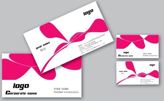 Business card free vector download 22544 free vector for business card design template vector accmission
