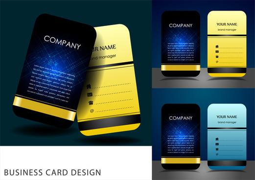 2017 business card calendar template free vector download 32439 business card design templates flashek Images