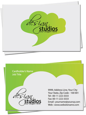 Business card templates to print at home free vector ...