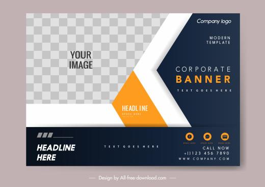 business card template elegant modern design checkered decor