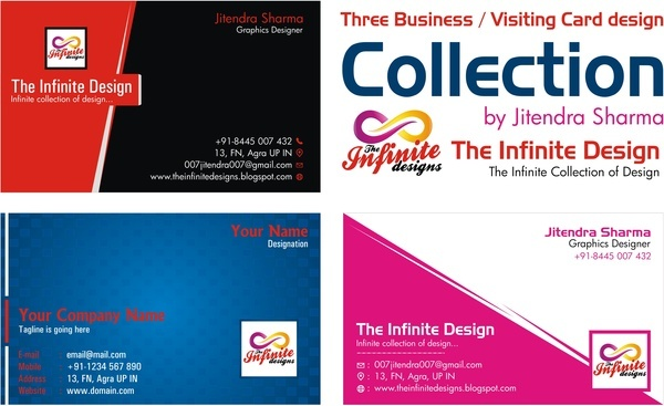 Visiting card design eps free vector download 182243 free vector business card visiting card template colourmoves