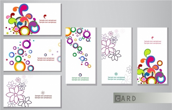 Visiting card design eps free vector download 181555 free vector business cards reheart Choice Image