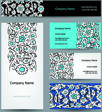 Business card for textile designers free vector download 223256 business cards with banner design vector colourmoves