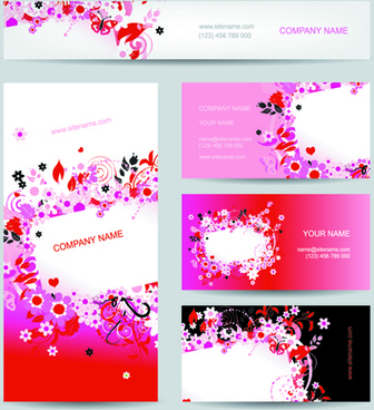 Business card for fashion designers free vector download 222713 business cards with banner design vector colourmoves