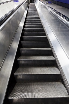 business climb escalator