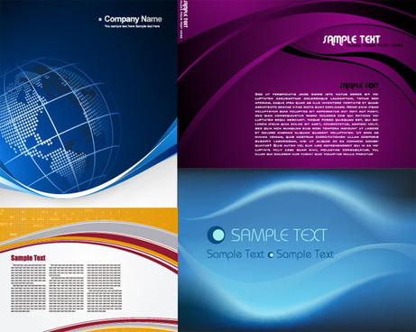 security company profile template - company profile background free vector download 48 995