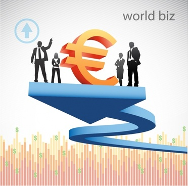business background european currency sketch modern 3d design