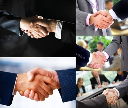 business cooperation handshake hd picture