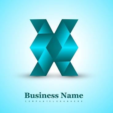 business creative blue icon vector