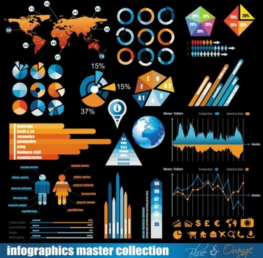 business data elements 01 vector