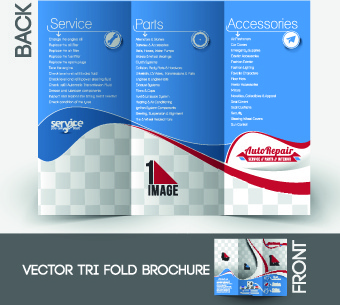 business flyer and cover brochure design vector