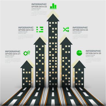 business infographic creative design01