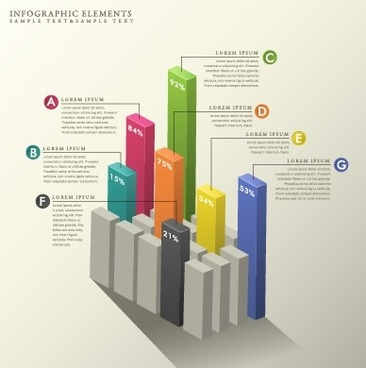 business infographic creative design0