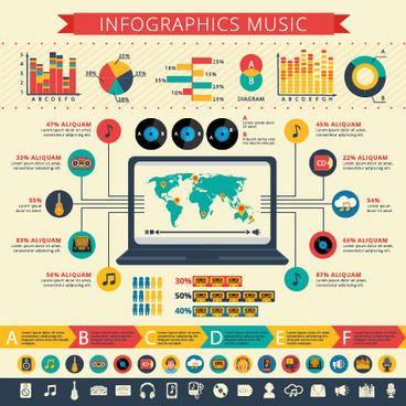 business infographic creative design35