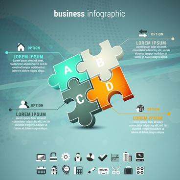 business infographic creative design57