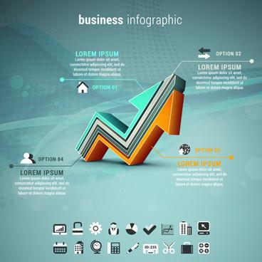 business infographic creative design61