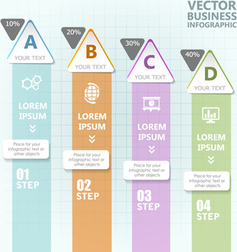 business infographic creative design74