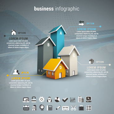 business infographic creative design76