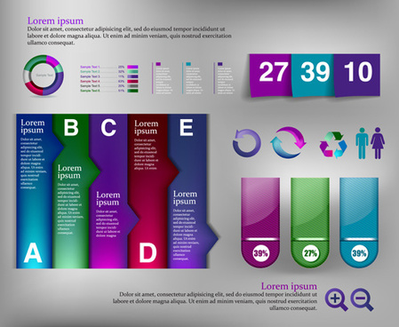 business infographic creative design77