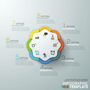 business infographic creative design81