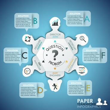 business infographic creative design82