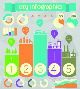 business infographic creative design84