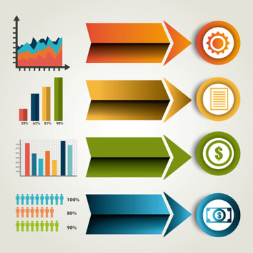 business infographic creative design85
