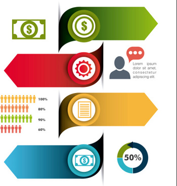 business infographic creative design87