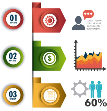 business infographic creative design94